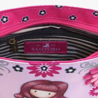 kwadratowa torebka na ramię - Santoro - Gorjuss - zajączek
