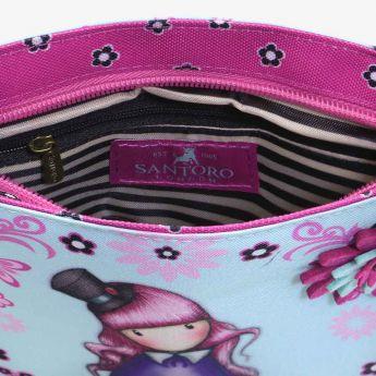 kwadratowa torebka na ramię - Santoro - Gorjuss - lisek