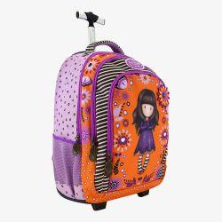 plecak-walizka na kółkach - Santoro - Gorjuss - pajęczynka