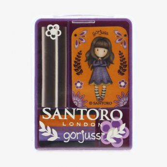 zestaw gumek w pudełku - Santoro - Gorjuss - pajęczynka