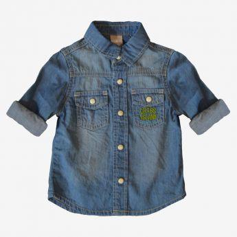 Birba - jeansowa koszula z kieszeniami