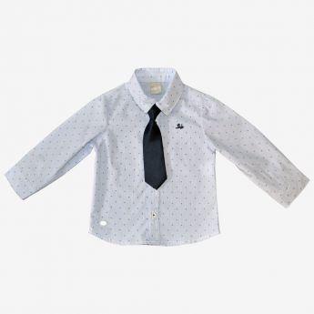 Birba - klasyczna koszula z krawatem