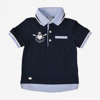 Birba - koszulka polo z imitacją koszuli