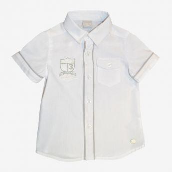 Birba - koszula z krótkim rękawem - z kieszonką