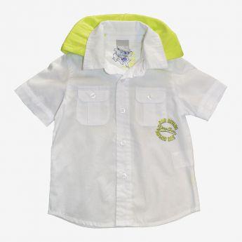 Birba - koszula z krótkimi rękawami i z kapturem