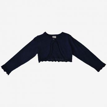 Birba - sweterek-bolerko - granatowy