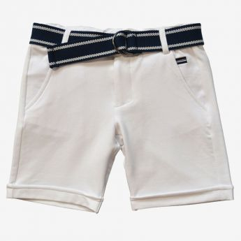 Trybeyond - krótkie spodnie z ozdobnym paskiem