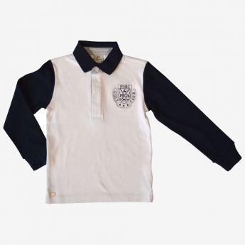 Trybeyond - koszulka polo z długimi rękawami