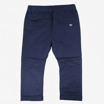 Birba, klasyczne, długie spodnie, granatowe