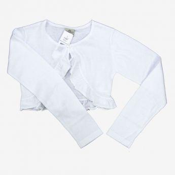 Trybeyond, sweterek-bolerko, kolor biały