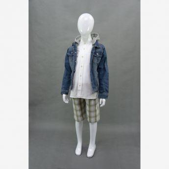 Trybeyond - kurtka jeansowa z odpinanym kapturem